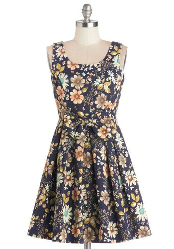 Retro Market Maven Dress, #ModCloth