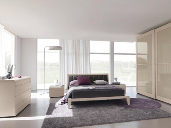 Camera da letto moderna. Modern bedroom.  ArredissimA ...