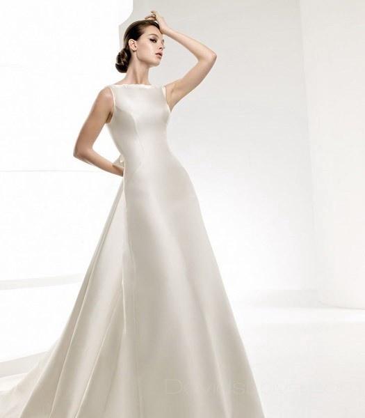 By joyce whitehouse on sleek simple beautiful wedding dresses