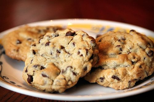 Thick and chewy chocolate chip cookies. | Recipes | Pinterest