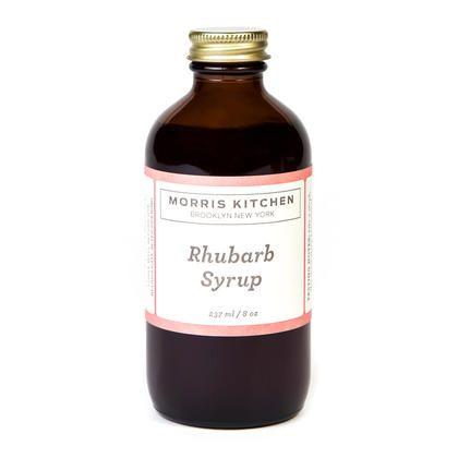 Morris Kitchen | Rhubarb Syrup | Christmas Gift Ideas | Pinterest