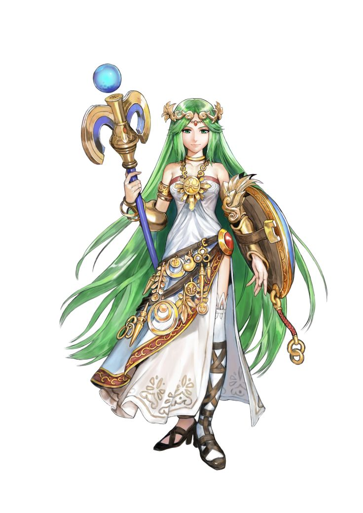 Palutena Is The Goddess From Nintendos Kid Icarus Series