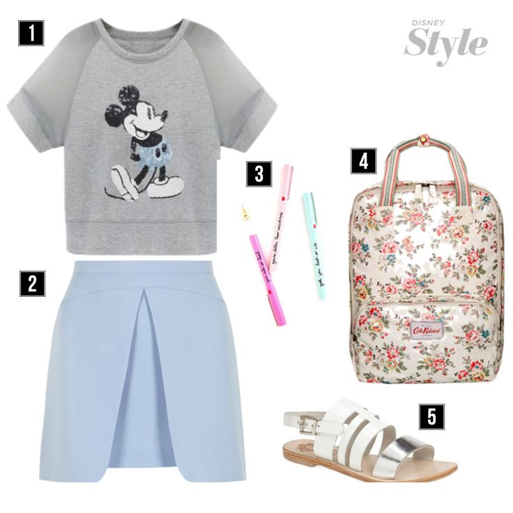 Disney Inspiration for the Best First Day of School Outfit