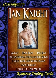 Ian Knight from the One touch One Glance Anthology that features my story He's On the Menu #sweetromance #Kindle #rockstar #popular #romance #love #diner #worldtour #waitress #sexy #famous Savannah Chase
