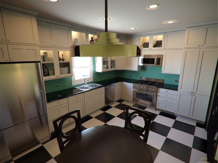 Art deco kitchen cabinets google search kitchen - Art deco kitchen cabinets ...
