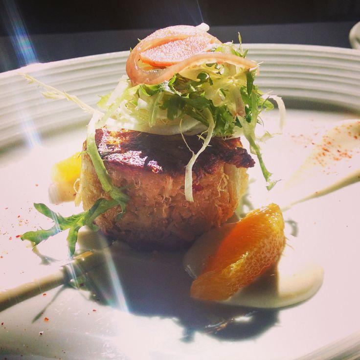 Jumbo Lump Crab Cake @bluewatergrillnyc | RECIPES | Pinterest