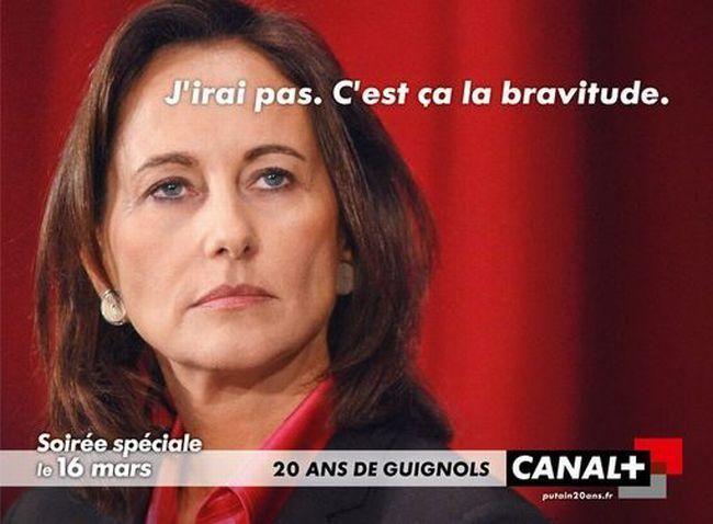 20 ans des Guignols de l'info - Ségolène Royal
