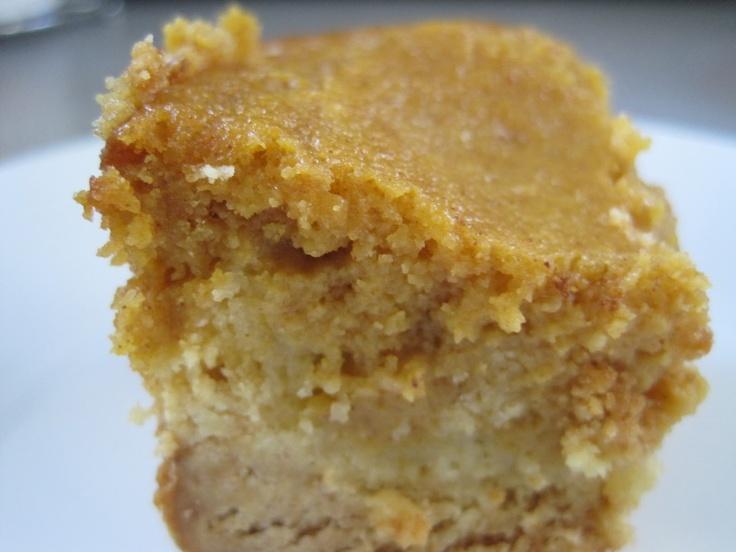 Pumpkin Gooey Butter Cakes   Holiday Foods   Pinterest