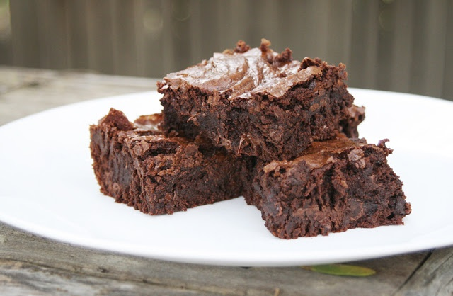 Please Note: Homemade Chocolate Brownies. THE BEST homemade brownie ...