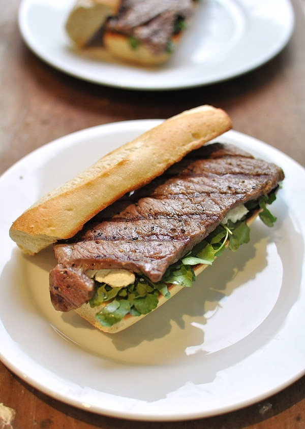 Steak Sandwiches Recipe — Dishmaps