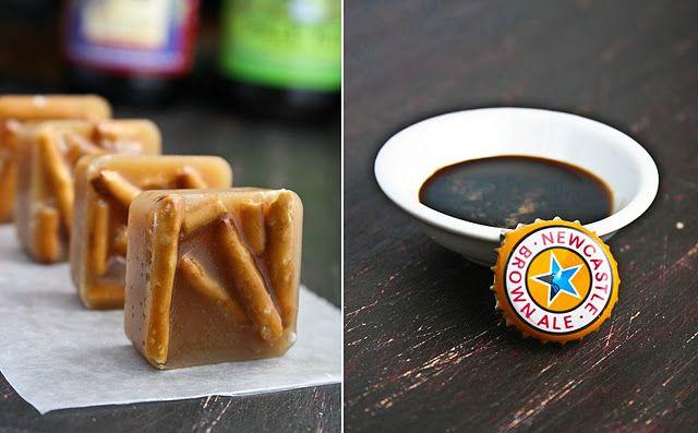 Beer & pretzel caramels | Sweet Treats | Pinterest
