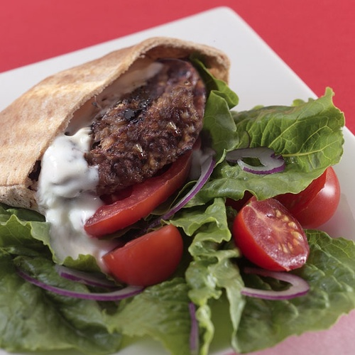 Middle Eastern Burgers | Food | Pinterest