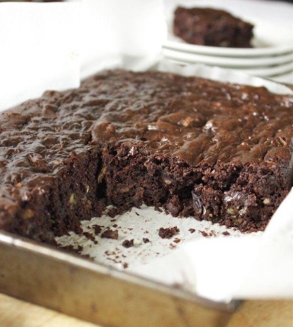 Chocolate Flourless Zucchini Brownies | Gluten-Free, Grain Free, Pale ...