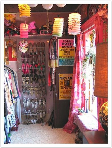 I love this closet SIMPLY because it has a window :) I used to have a window in my closet and it just brightened everything up. I love it!