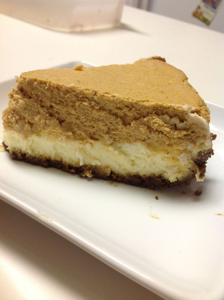 Layered Pumpkin Cheesecake | Recipe