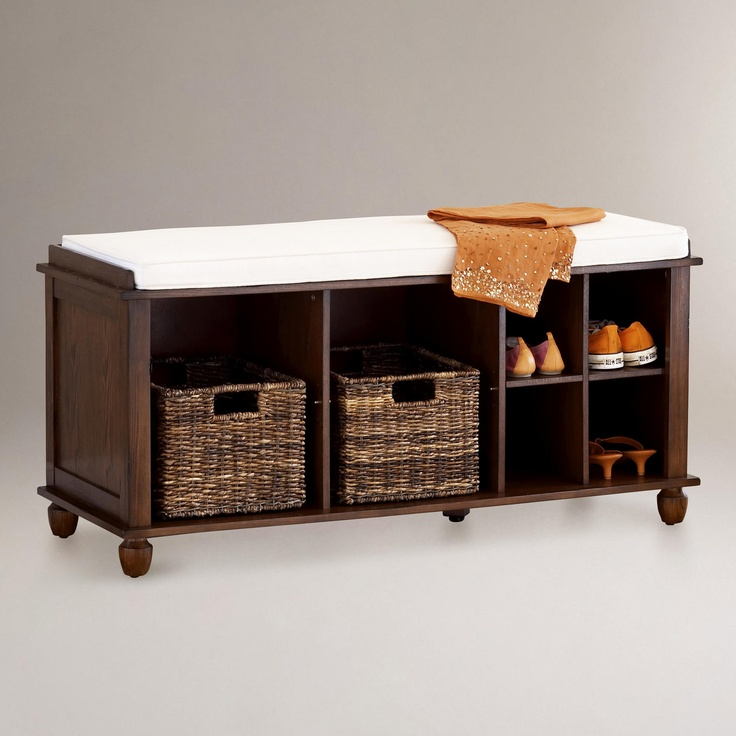 Eureka Storage Bench World Market For The House Pinterest