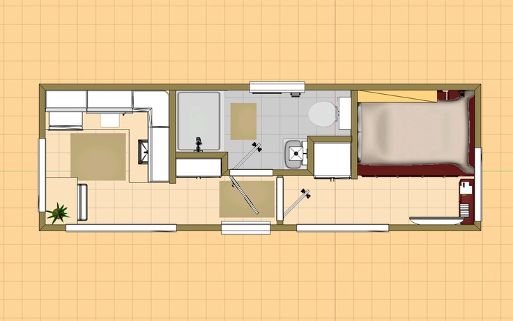 Small house plans under 1000 sq ft 200 square feet tiny house floor