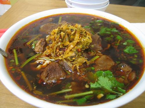 Beef Noodle Soup -- Katy's Dumplings, Westmont, IL