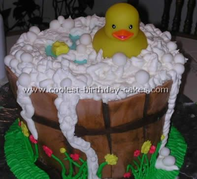 rubber duckie baby shower decorations