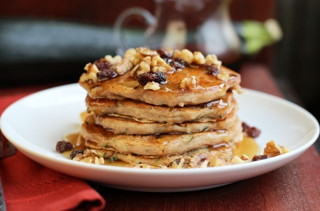 Zucchini Bread Pancakes | Breads | Pinterest