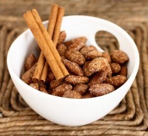 cinnamon roasted almonds..yum!