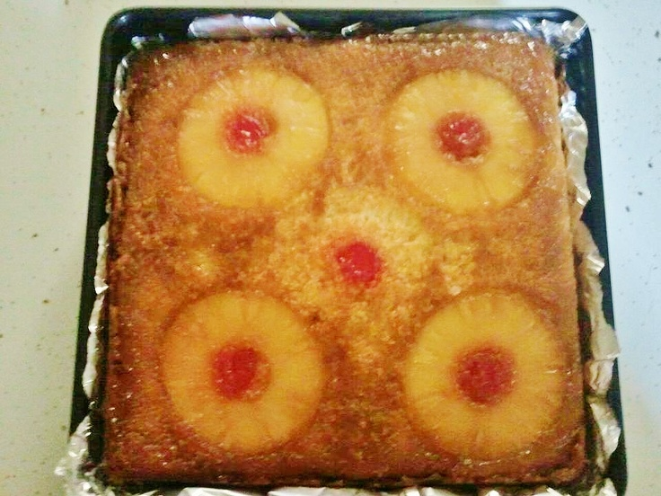 Bisquick Pineapple Upside Down Cake Cast Iron Skillet