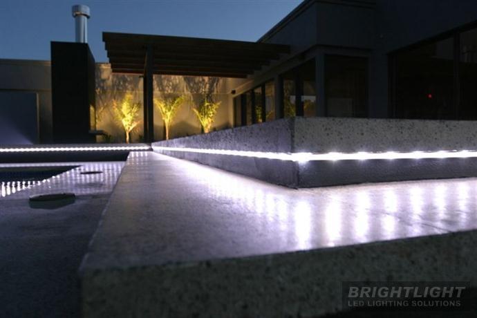 Exterior Linear Lighting Home Interiors Pinterest