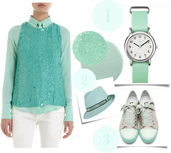 Trend Report: Yes, You Can Wear Mint Green For Day or Night ( 5 Outfit Ideas)
