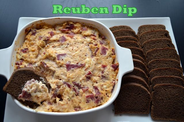 Reuben Dip | Food + Appetizers + Snacks | Pinterest