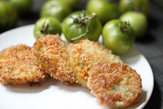 Easy Fried Green Tomatoes- Always Thought This Was A Waste Of A Tomato ...