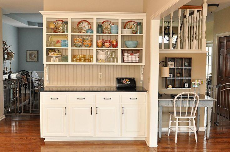 Built in kitchen hutch ideas kitchen pinterest for Kitchen designs china