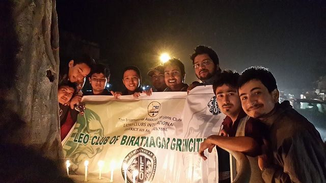 Biratnagar greencity leo club nepal leos organized awareness and