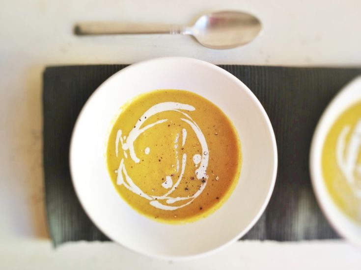 Golden Beet Soup with Roasted Garlic Cashew Cream | With Food + Love