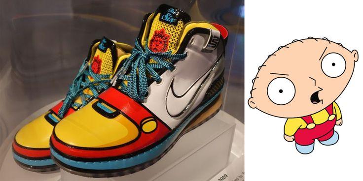 "cc3aac64d034c ... stewie family guy Nike LeBron 6 ""Stewie"""