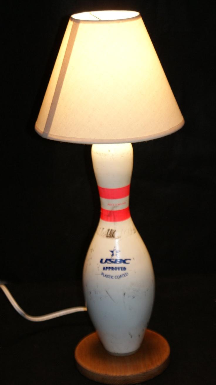 bowling pin lamp bowling pinterest
