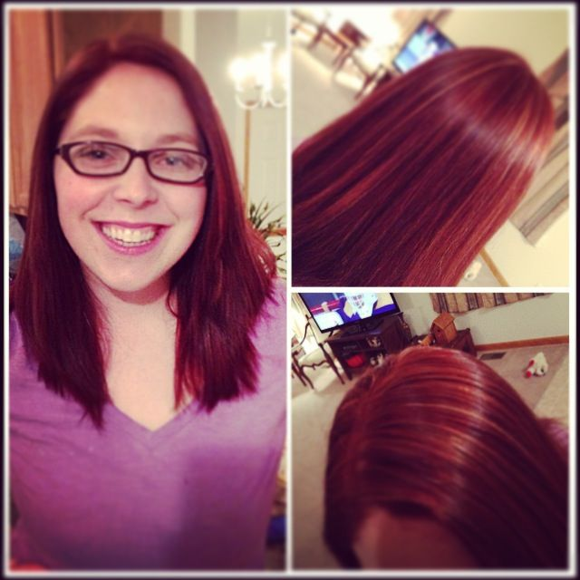 Highlights And Lowlights For Redheads | Dark Brown Hairs