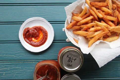 want to try and make this homemade ketchup when our crop of tomatoes ...