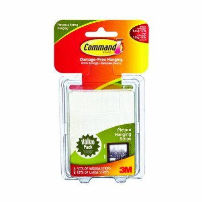3M Command Picture Hanging Strips! No holes and marks on walls. From ...