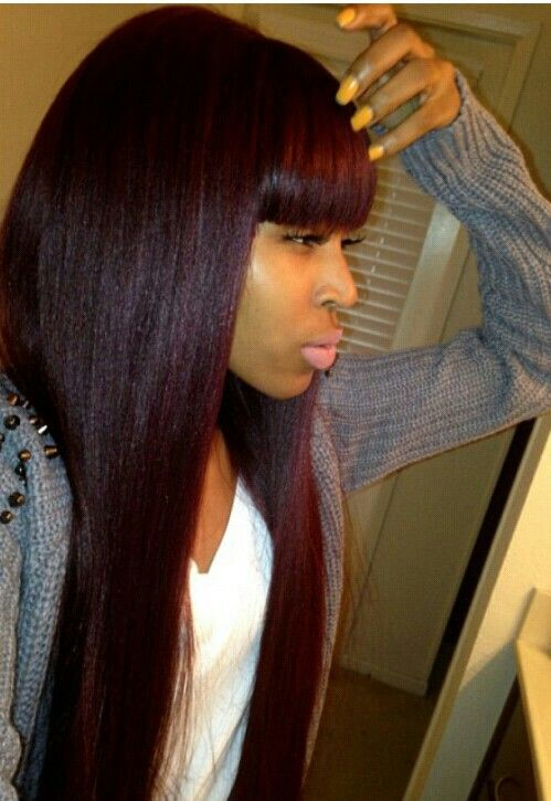 Sew in hairstyles on pinterest weave hairstyles dreads