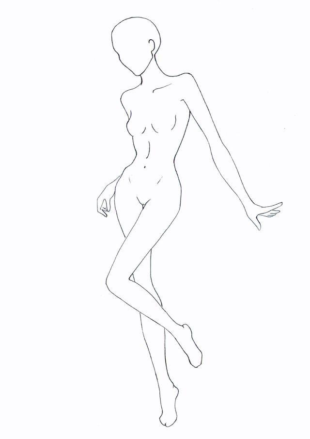 Рисуем Обнаженную Фигуру