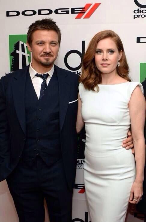 Jeremy Renner and Amy ...