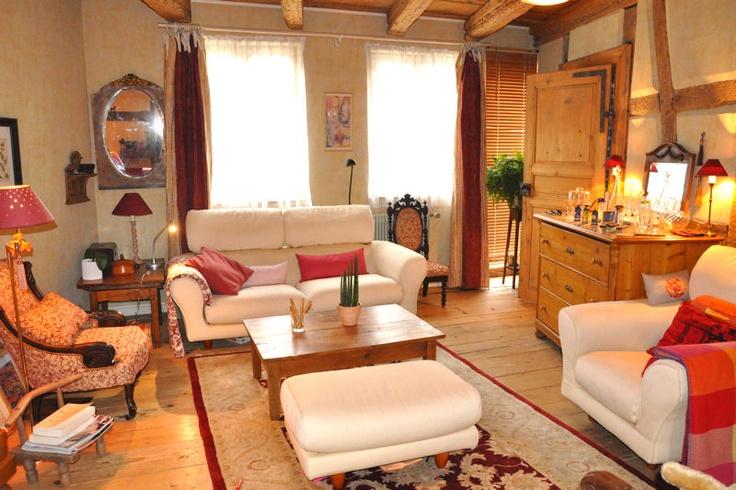 Salon chaleureux et familial d co pinterest - Decoration salon chaleureux ...