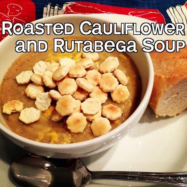Roasted Cauliflower and Rutabega Soup.. | Soup | Pinterest