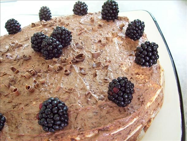 """Chocolate Tortilla Torte: """"No one believes it's made with tortillas ..."""