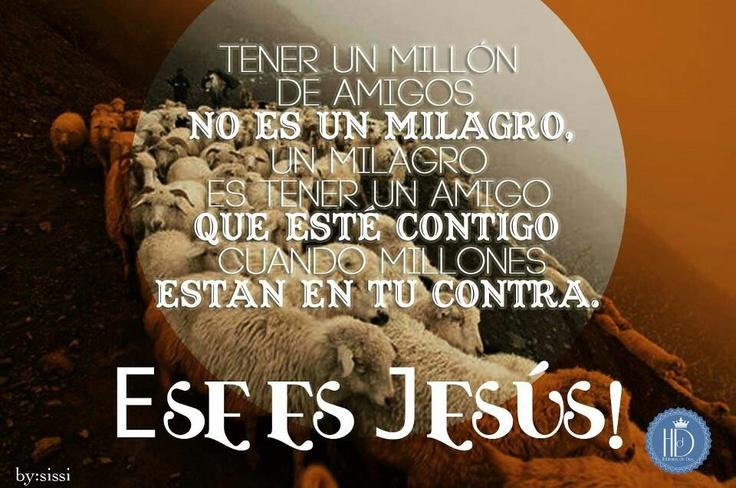 Jesús el único amigo fiel