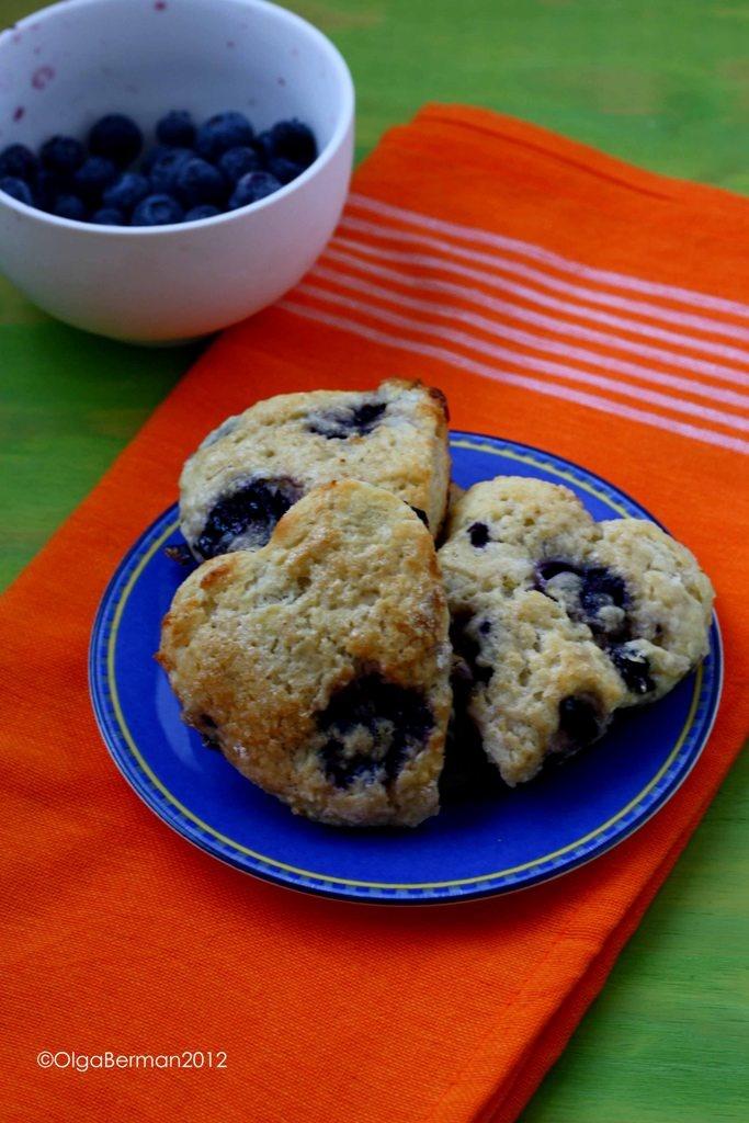 Blueberry Lemon Scones. | Dinner | Pinterest