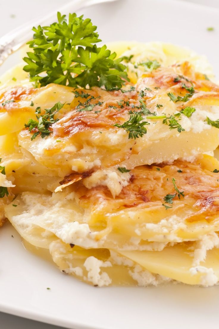 Creamy Au Gratin Potatoes Recipe | Side Dishes | Pinterest
