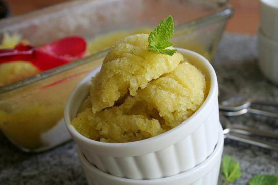 mango-cucumber-mint-granita- (frozen dessert for non-Spanish speakers ...