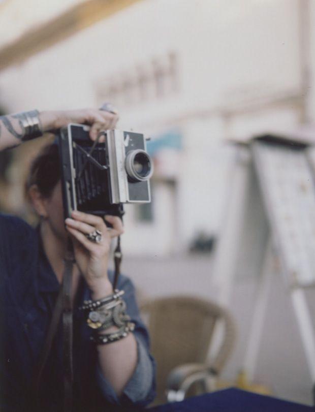 Polaroid Land Camera | Stuff We Want | Pinterest