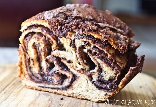Yeasted Chocolate Coffee Cake   yummo   Pinterest